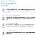 XX Giornata Nazionale del Trauma Cranico: il comunicato ANSA