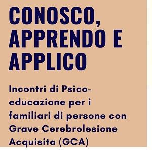 Associazione ATRACTO:  prosegue nel progetto dedicato ai familiari delle persone con esiti da cerebrolesione acquisita.